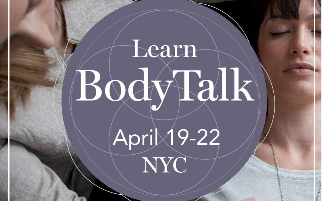 BodyTalk Fundamentals with Holly Steflik, CBI